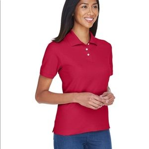 Riders by Lee Jeans Cerise Polo Shirt